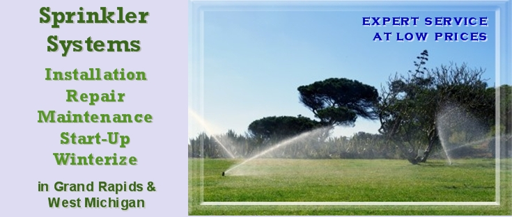 Sprinkler systems Grand Rapids Advantage Irrigation West Michigan
